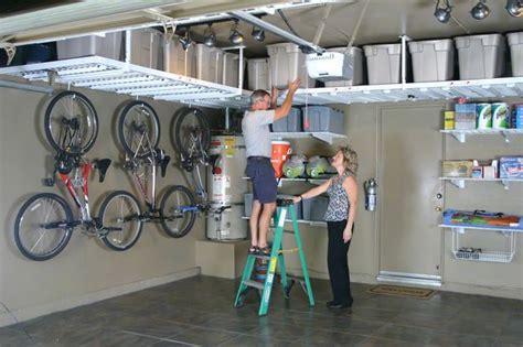 Bicycle Storage Garage Solutions by Garage Overhead Storage Racks Garage Overhead Storage
