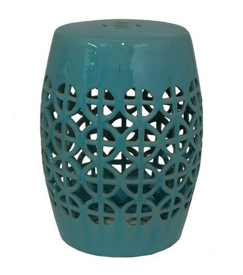 Turquoise Garden Stool by 116 Best Images About L M S Mermaid Bathroom On