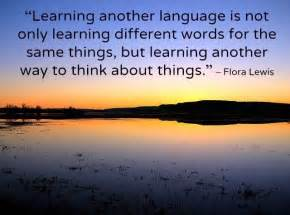 quotes about learning another language