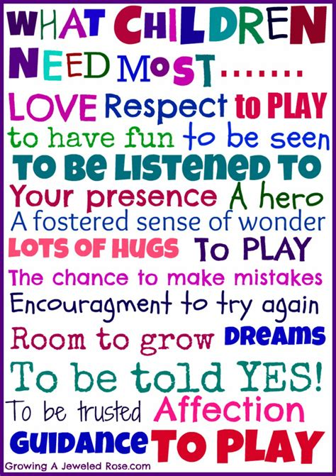 printable childrens quotes parenting