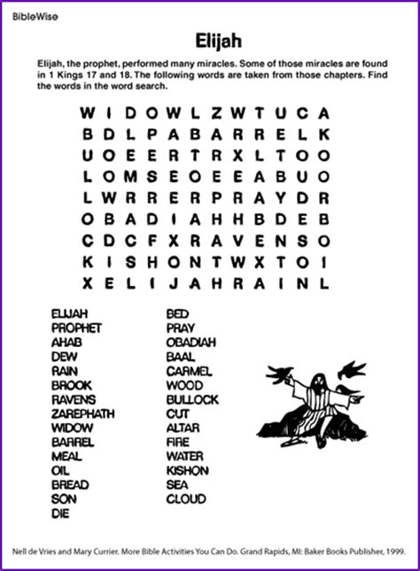m nelson remembering the prophets of god volume 8 books elijah word search korner biblewise mystery of