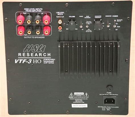 hook   subwoofer   stereo amplifier