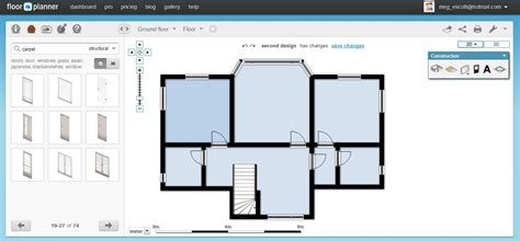 draw floor plan software free floor plan software floorplanner review