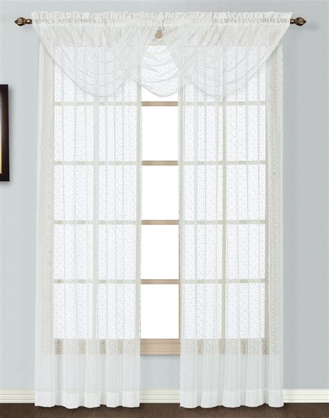 lace white curtains charlotte lace curtains white united view all curtains