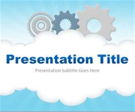 technology templates for powerpoint 2007 free download ppt template cloud and cloud computing on pinterest