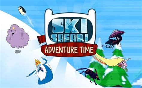 adventure time ski safari apk ski safari adventure time android