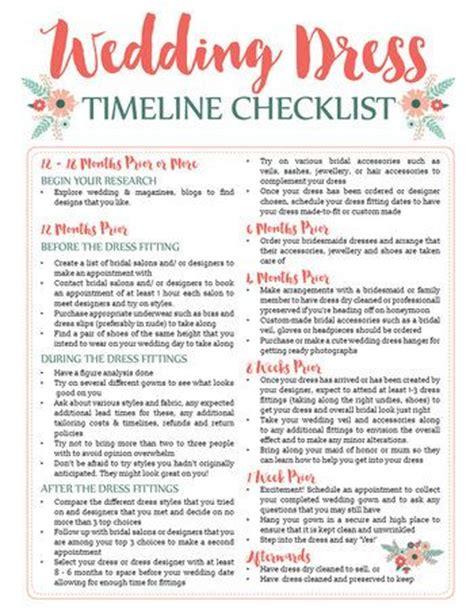 printable wedding checklist timeline wedding dress planning timeline printable download