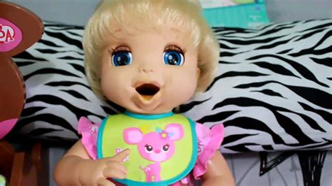 Baby Alive Baby Real feeding my real surprises baby alive part 2 hd