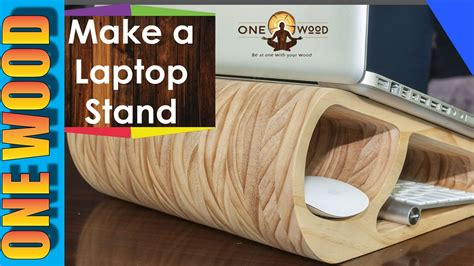 how to learn woodworking woodworking project make a wooden laptop stand and learn