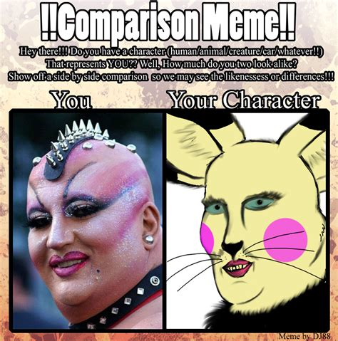 Comparison Meme - comparison meme weasyl