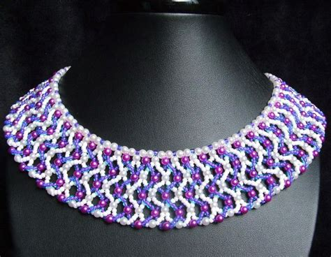 bead netting necklace 17 best images about tutorials beading stitches netting