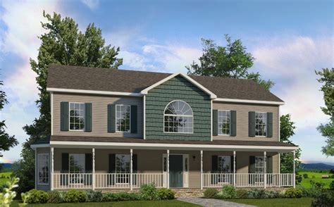 2 story homes kensington two story style modular homes