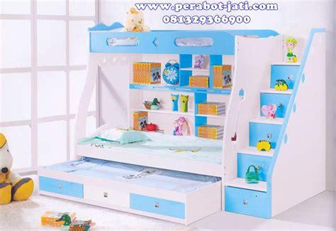 Tempat Tidur Tingkat Goval 3 jual tempat tidur 3 tingkat ranjang susun 2016 perabot jati jepara perabot jati perabot