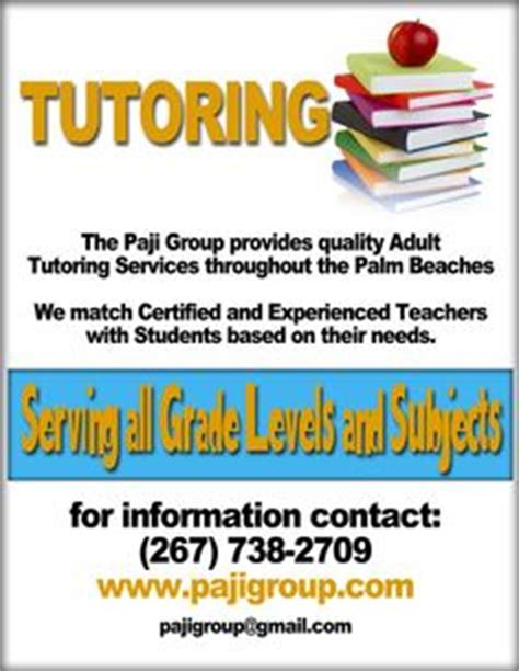 Flyers Google Search And Google On Pinterest Tutoring Flyer Template Sle