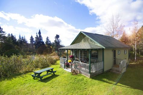 Fundy Park Cottages by Location Of Our Cottages On The Bay Of Fundy Near Alma Nb