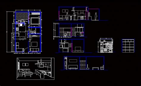home design dwg download single family house with patio 2d dwg plan for autocad designscad