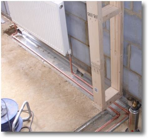 How To Plumb Central Heating by Build A Houseextension Plumbing The Extension