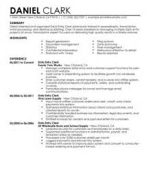 General Office Clerk Sle Resume by Best Photos Of Office Clerk Resume Sles General Office Clerk Resume Exle Entry Level