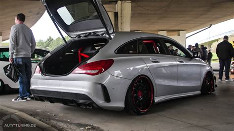 Tieferlegung Cla Shooting Brake shooting star mercedes benz cla shooting brake