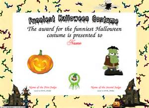 Halloween Costume Certificate Template Index Of Images Samples