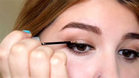 pencil eyeliner tutorial youtube black and gold eyeliner tutorial youtube