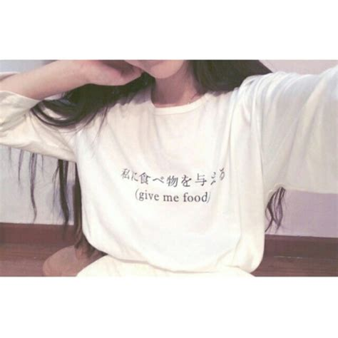 sweater give me food translate sweater black and white writing blouse wheretoget