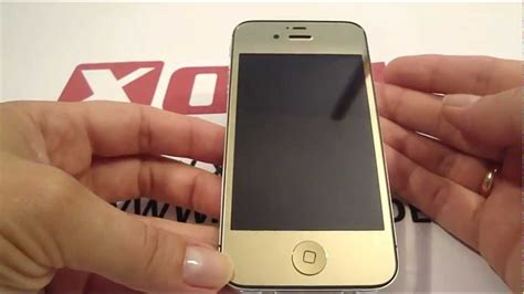 Hombutton Mirror Iphone by Light Gold Chrome Iphone 4 Iphone 4s Mod Kit Lcd Back