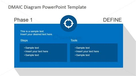 define design template dmaic define slide design for powerpoint slidemodel