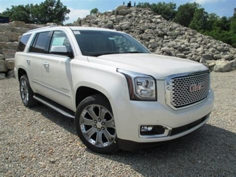 2015 Gmc Specs by 2015 Gmc Yukon Denali 4wd Data Info And Specs Gtcarlot