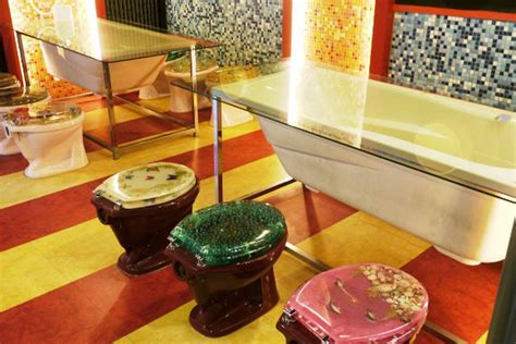 bathroom themed restaurant around the world in bathroom themed restaurant decor curbed