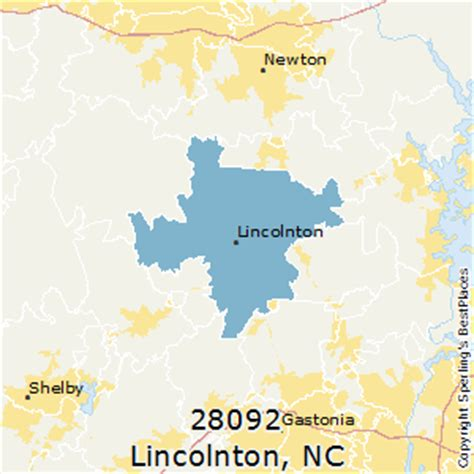best places to live in lincolnton zip 28092 carolina
