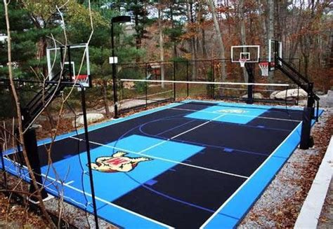 backyard sport courts flex court sport courts landscaping network