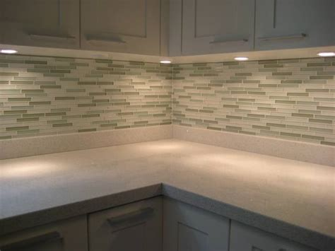 How To Install Glass Mosaic Tile Backsplash In Kitchen - kitchens backsplash toronto by masters