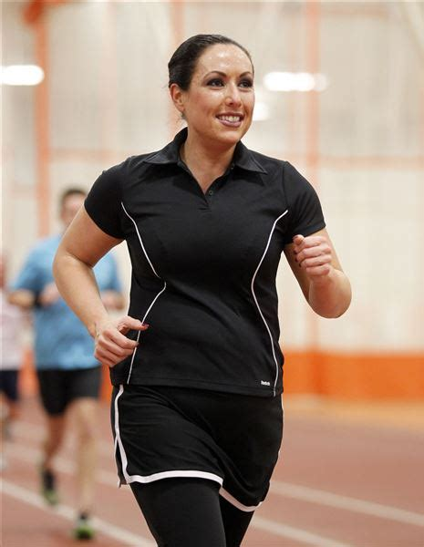 perry field house mom s marathon is run for her new life the blade