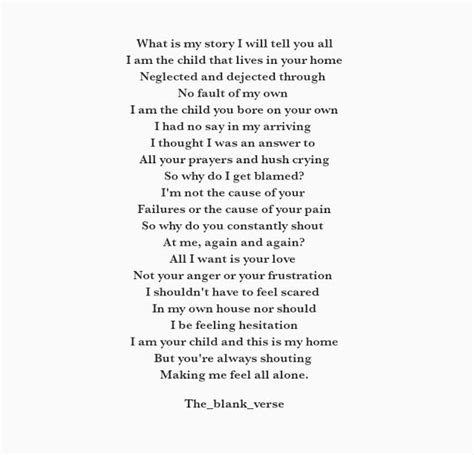 the blank verse archives poetry