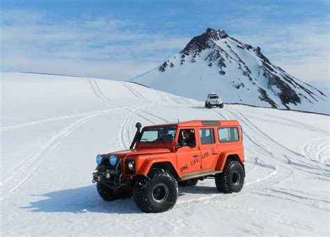 Jeep Iceland Thermal Pool Strutslaug Glacier Myrdalsjokull