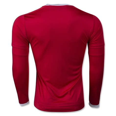 Jersey Manchester United Ls adidas manchester united home l s jersey the soccer factory