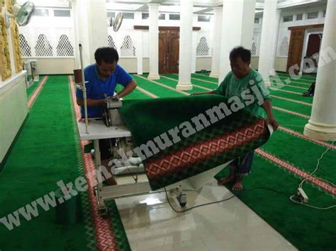 Karpet Masjid Tebal Surabaya grosir karpet masjid di jatiwaringin al husna pusat
