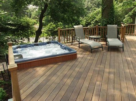 patio tub the magic of a portable spa patio or spa deck portable spa how to work and decks