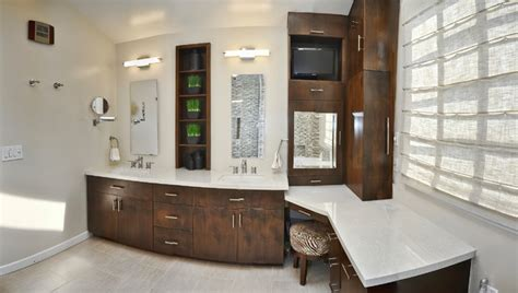 Home Decorators Cabinets Master Bathroom Double Sinks And Make Up Vanity