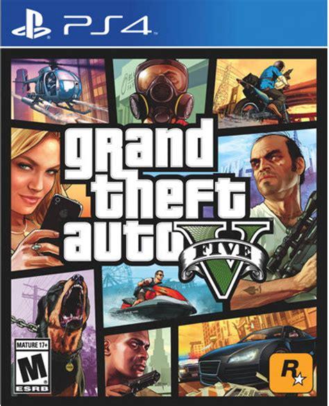 Grand Theft Auto V by Grand Theft Auto V Ebgames Ca