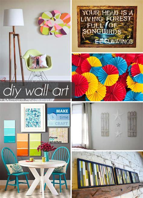 Diy Wall Ideas Home