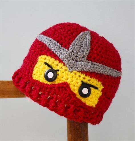 ninjago pattern crochet ninjago hats ninja hat crochet ninja beanie