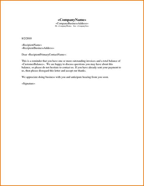 collection letter exle best resumes