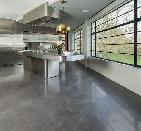 concrete floor apartment polished concrete opulence ribaj
