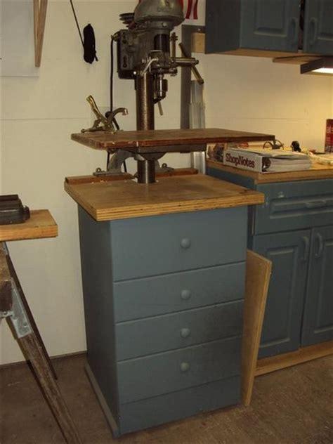floor drill press cabinet  tlarengineering