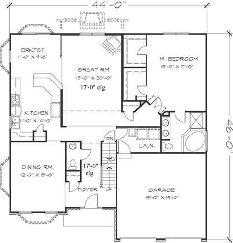 747 floor plan early american style house plans plan 15 747