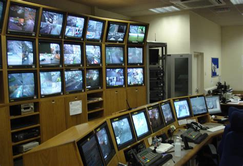 Wall Unit Storage by Cctv Control Room Case Study Thinking Space Systems
