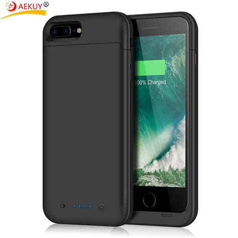 Charger Iphone 8 for iphone 8 plus 7 plus battery 7000mah battery pack charger portable battery