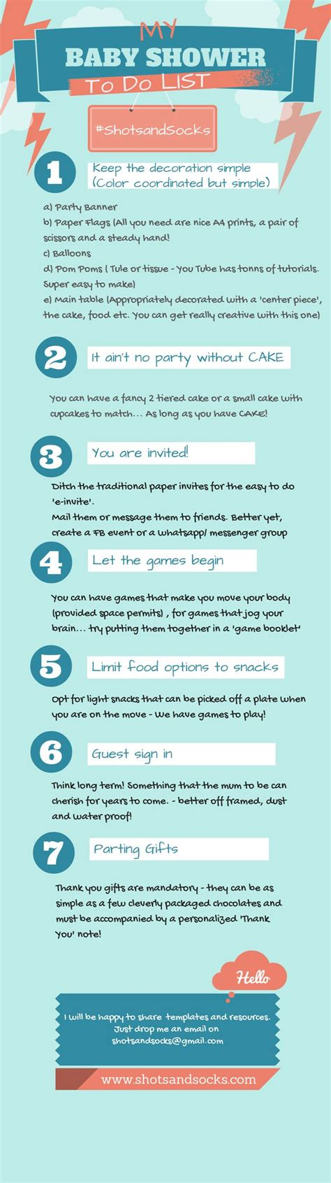 Baby Shower To Do List by Template Baby Shower To Do List Baby Shower To Do List